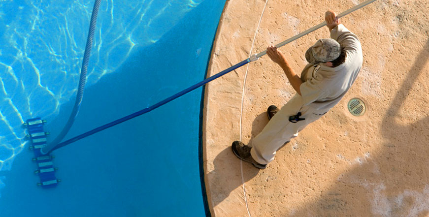 commercial pool service rutherford nsw