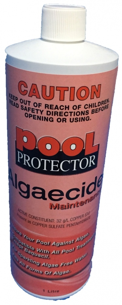 Pool protector algaecide maintenance 1 litre always - Copper sulfate pentahydrate swimming pool ...